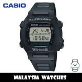 (100% Original) Casio W-740-1 Youth Digital Black Resin Men's Watch W740 W740-1 W-740-1VS