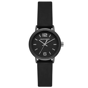 (OFFICIAL WARRANTY) Skechers SR6227 Quartz Analog Black Dial Black Silicone Strap Ladies' Watch (2 Years Warranty)