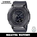 (OFFICIAL WARRANTY) Casio G-Shock GM-S2100B-8A Dark Grey Stainless Steel Case Black Resin Strap Watch GMS2100B GMS2100B-8A GM-S2100B-8ADR