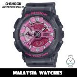 (OFFICIAL WARRANTY) Casio G-Shock GMA-S110NP-8A Neo Punk Analog-Digital Black Resin Watch GMAS110NP GMAS110NP-8A GMA-S110NP-8ADR