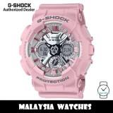 (OFFICIAL WARRANTY) Casio G-Shock GMA-S120NP-4A Neo Punk Analog-Digital Pink Resin Watch GMAS120NP GMAS120NP-4A GMA-S120NP-4ADR