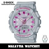 (OFFICIAL WARRANTY) Casio G-Shock GMA-S130NP-8A Neo Punk Analog-Digital Step Tracker Grey Resin Watch GMAS130NP GMAS130NP-8A GMA-S130NP-8ADR