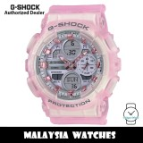 (OFFICIAL WARRANTY) Casio G-Shock GMA-S140NP-4A Neo Punk Analog-Digital Pink Resin Watch GMAS140NP GMAS140NP-4A GMA-S140NP-4ADR