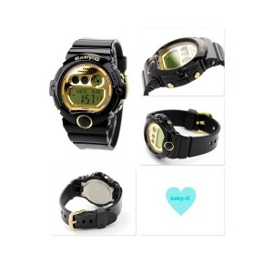 (OFFICIAL MALAYSIA WARRANTY) Casio Baby-G BG-6901-1 Standard Digital Women's Resin Watch (Black & Gold)