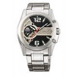 Orient CDB02001B Gents Automatic Open Heart Dial Stainless Steel Watch (Skeleton)