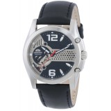 Orient CDB02002B Gents Automatic Open Heart Dial Black Leather Strap Watch (Skeleton)
