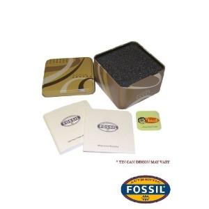 Fossil ES3268 Georgia Mini Glitz Three Hand Stainless Steel Watch (Rose)