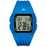 Adidas Performance ADP3234 Duramo LCD Dial Blue Resin Strap Unisex Watch (Blue)