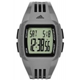 Adidas Performance ADP3173 Duramo LCD Dial Grey Resin Strap Unisex Watch (Grey)