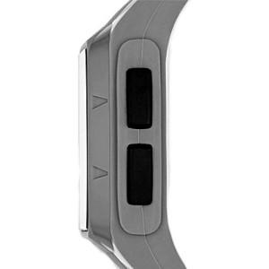 Adidas Performance ADP3173 Duramo LCD Dial Grey Resin Strap Unisex Watch (Grey)