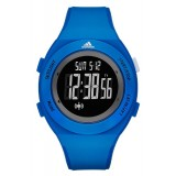 Adidas Performance ADP3217 LCD Dial Blue Resin Strap Unisex Watch (Black & Blue)
