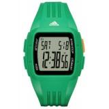 Adidas Performance ADP3236 Duramo LCD Dial Green Resin Strap Unisex Watch (Green)