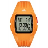 Adidas Performance ADP3237 Duramo LCD Dial Orange Resin Strap Unisex Watch (Orange)