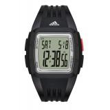 Adidas Performance ADP3235 Duramo LCD Dial Black Resin Strap Unisex Watch (Black)