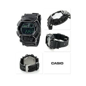 (OFFICIAL MALAYSIA WARRANTY) Casio G-SHOCK GD-400MB-1 Black & Green Standard Digital Men's Resin Watch