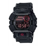 (OFFICIAL MALAYSIA WARRANTY) Casio G-SHOCK GD-400-1 Black & Red Standard Digital Men's Resin Watch