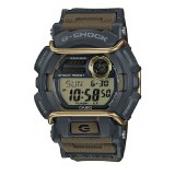 (OFFICIAL MALAYSIA WARRANTY) Casio G-SHOCK GD-400-9 Black & Military Green Standard Digital Men's Resin Watch