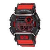 (OFFICIAL MALAYSIA WARRANTY) Casio G-SHOCK GD-400-4 Black & Red Standard Digital Men's Resin Watch