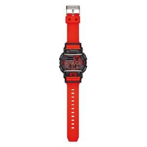 (OFFICIAL MALAYSIA WARRANTY) Casio G-SHOCK GD-400-4 Black & Red Standard Digital Men's Resin Watch
