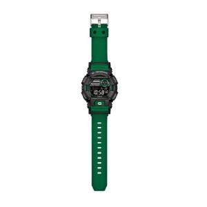 (OFFICIAL MALAYSIA WARRANTY) Casio G-SHOCK GD-400-3 Black & Green Standard Digital Men's Resin Watch