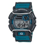 (OFFICIAL MALAYSIA WARRANTY) Casio G-SHOCK GD-400-2 Black & Blue Standard Digital Men's Resin Watch