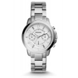 Fossil Women's ES4036 Gwynn Chronograph Silver Stainless Steel Watch (Free Shipping)