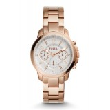 Fossil Women's ES4035 Gwynn Chronograph Rose Gold-Tone Stainless Steel Watch (Rose Gold)
