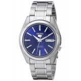 Seiko 5 SNKL43K1 Automatic Gents Stainless Steel Watch (Blue & Silver)