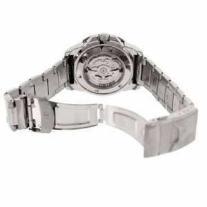 Seiko 5 Sports Automatic SRP543K1 Stainless Steel Strap Gents Watch (Silver, Black & Blue)