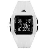Adidas Performance ADP3263 Duramo Black Dial White Resin Strap Unisex Watch (White & Black)