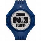 Adidas Performance ADP3266 Questra Black Dial Resin Strap Unisex Watch (Dark Blue & Black)