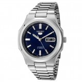 Seiko 5 SNKK45K1 Automatic Gents Stainless Steel Watch (Silver & Blue)