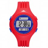 Adidas Performance ADP3272 Questra White Dial Red & Blue Resin Strap Watch (Red & Blue)