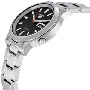 Seiko 5 SNK795K1 Automatic Gents Stainless Steel Watch (Silver & Black)