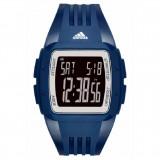 Adidas Performance ADP3268 Duramo Black Dial Blue Resin Strap Unisex Watch (Dark Blue & Black)