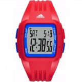 Adidas Performance ADP3271 Duramo White Dial Red & Blue Resin Strap Watch (Red & Blue)