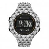 Adidas Performance ADP3243 Questra Black Dial Resin Strap Unisex Watch (Black & White)