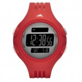 Adidas Performance ADP3134 Questra Black Dial Red Resin Strap Unisex Watch (Red & Black)