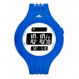Adidas Performance ADP3136 Questra Black Dial Blue Resin Strap Unisex Watch (Blue, Black & White)