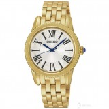 Seiko Ladies Fashion SRZ440P1 Roman Gold Stainless Steel Watch (Gold)