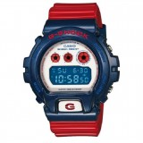 (OFFICIAL MALAYSIA WARRANTY) Casio G-SHOCK DW-6900AC-2 CAPTAIN AMERICA Standard Digital Watch (Red & Blue)