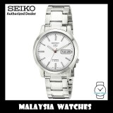 Seiko 5 SNK789K1 Automatic See-thru Back White Dial Stainless Steel Bracelet Gents Watch