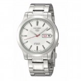Seiko 5 SNK789K1 Automatic Gents Stainless Steel Watch (Silver & White)