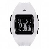 Adidas Performance ADP3260 Duramo XL Black Dial White Resin Strap Unisex Watch (White & Black)