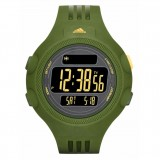 Adidas Performance ADP6122 Questra Black Dial Military Green Strap Unisex Watch (Military Green)