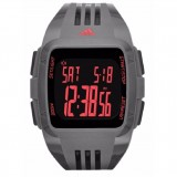 Adidas Performance ADP6117 Duramo XL Black Dial Grey Resin Strap Unisex Watch (Black & Grey)