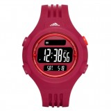 Adidas Performance ADP3284 Questra Black Dial Red Resin Strap Unisex Watch (Red & Black)