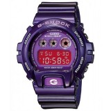 (OFFICIAL MALAYSIA WARRANTY) Casio G-SHOCK DW-6900CC-6 Purple Resin LCD Standard Digital Watch (Purple)