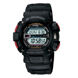 (OFFICIAL MALAYSIA WARRANTY) Casio G-SHOCK G-9000-1 Mudman Black Men's Resin Standard Digital Watch