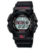 (OFFICIAL MALAYSIA WARRANTY) Casio G-SHOCK G-9100-1 Gulfman Black Men's Resin Standard Digital Watch